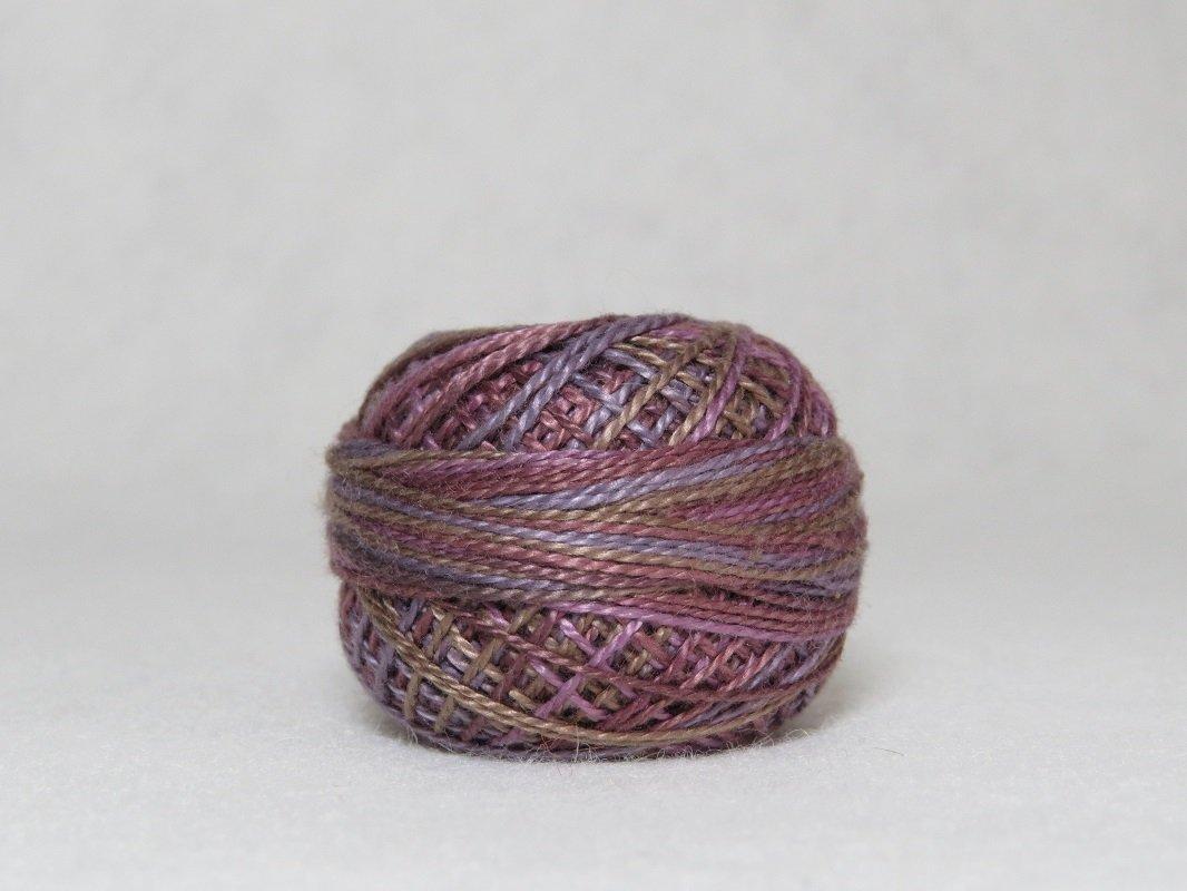 Valdani Perle Cotton Antique Violet size 8