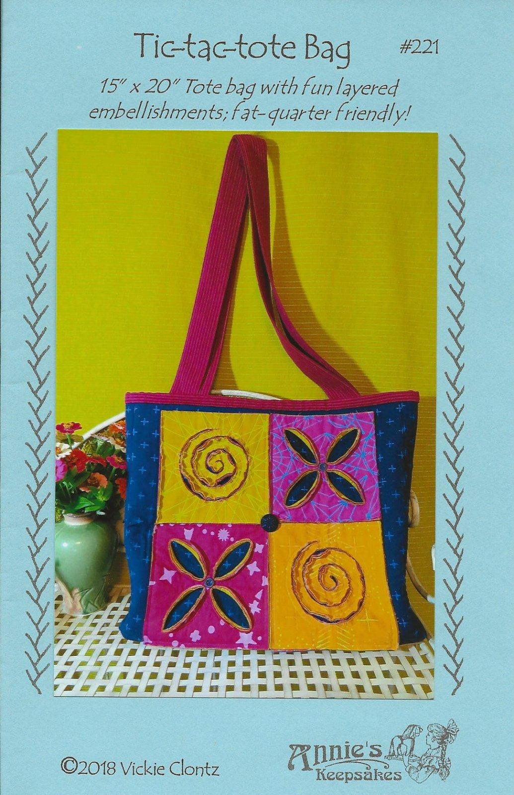 Tic-tac-Tote Bag