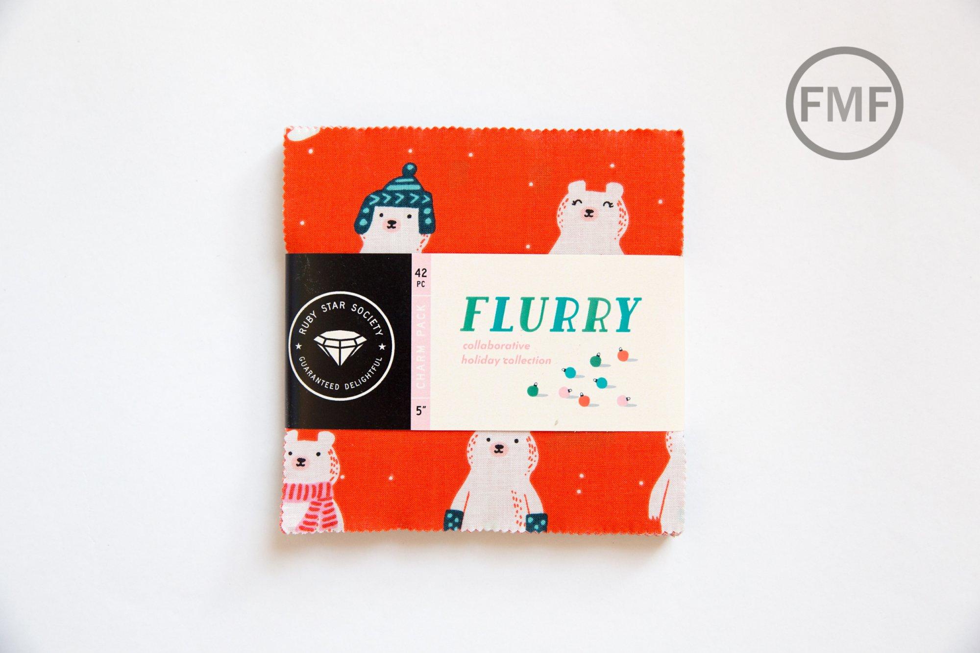 Flurry Charm Pack, Ruby Star Society