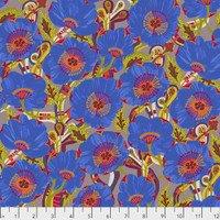 Free Spirit Shannon Newlin Vibrant Blooms Sunshine Bloom Blue