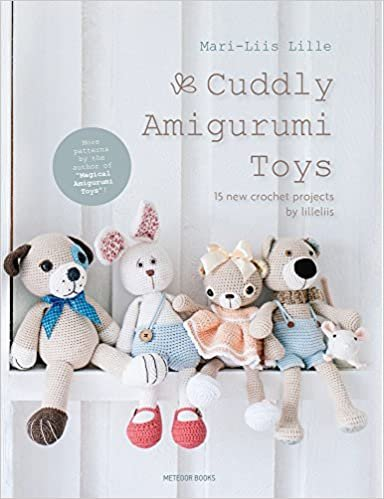 Cuddly Amigurumi Toys by Mari-Liis Lille Book
