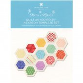 MIssouri Star Hexagon Template set 2.5