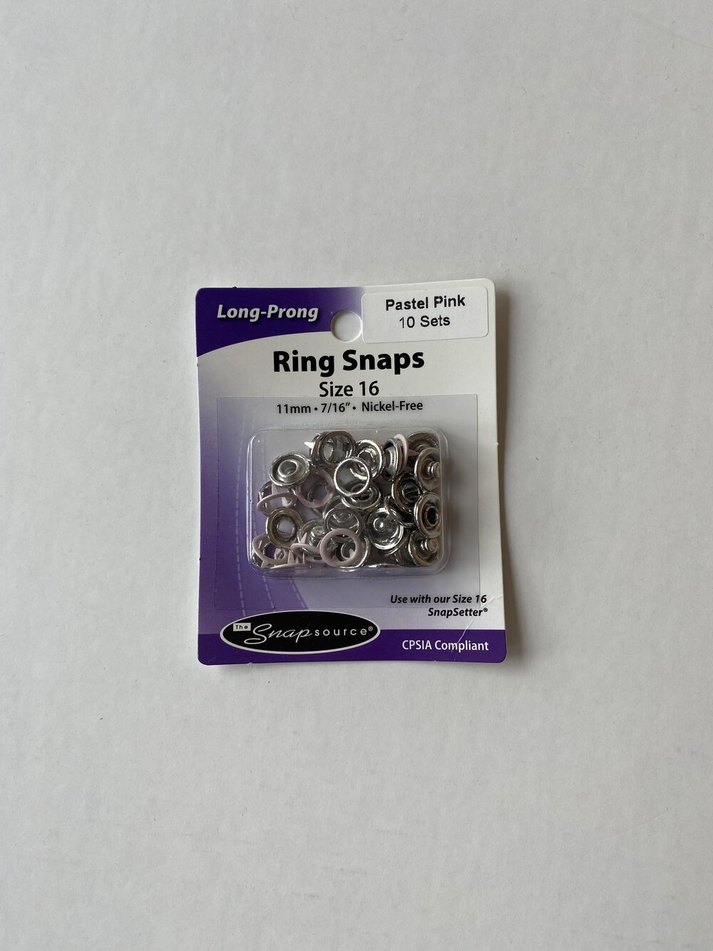 Snap Setter Ring Snaps Size 16