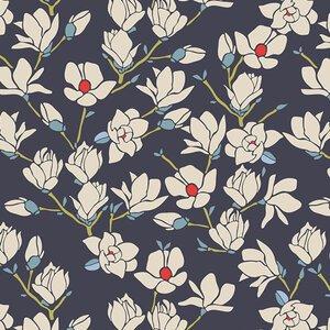 Art Gallery Fabrics Charleston Magnolia Nightfall Knit