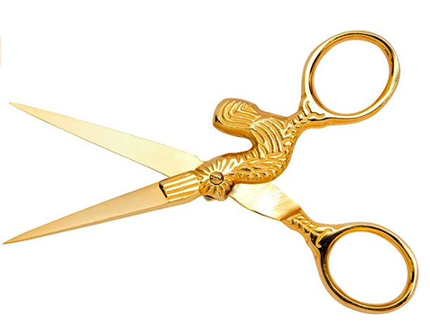 Mundial 150-4CS Specialty Forged 4 Chanticleer Embroidery Scissors