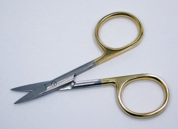 Gold Loop Embroidery Scissors