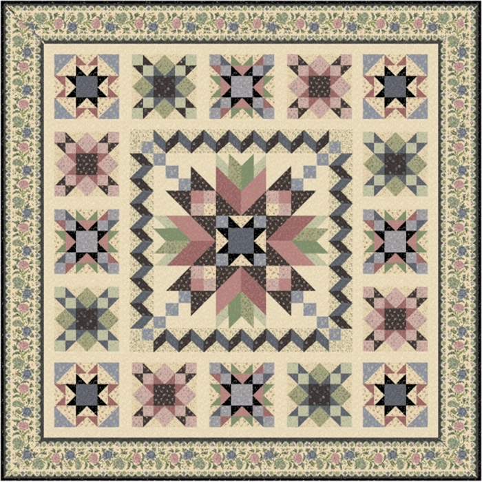 For Rosa  Complete Quilt Kit