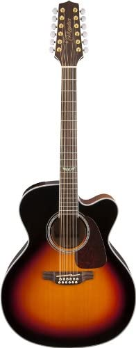 Takamine GJ72CE-12BSB Acoustic-Electric 12 String Guitar
