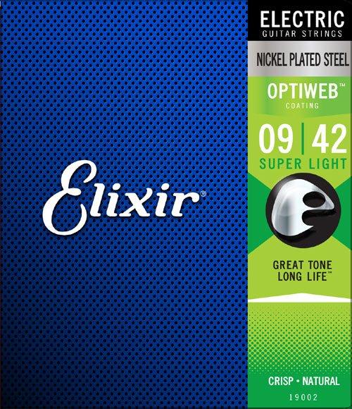 Elixir Optiweb 9-42 Electric string set