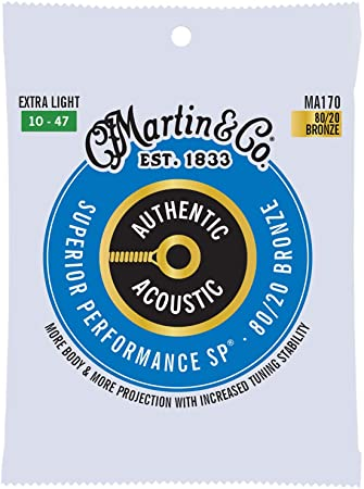 Martin Authentic SP Extra Light 80/20 Bronze 10-47 MA170
