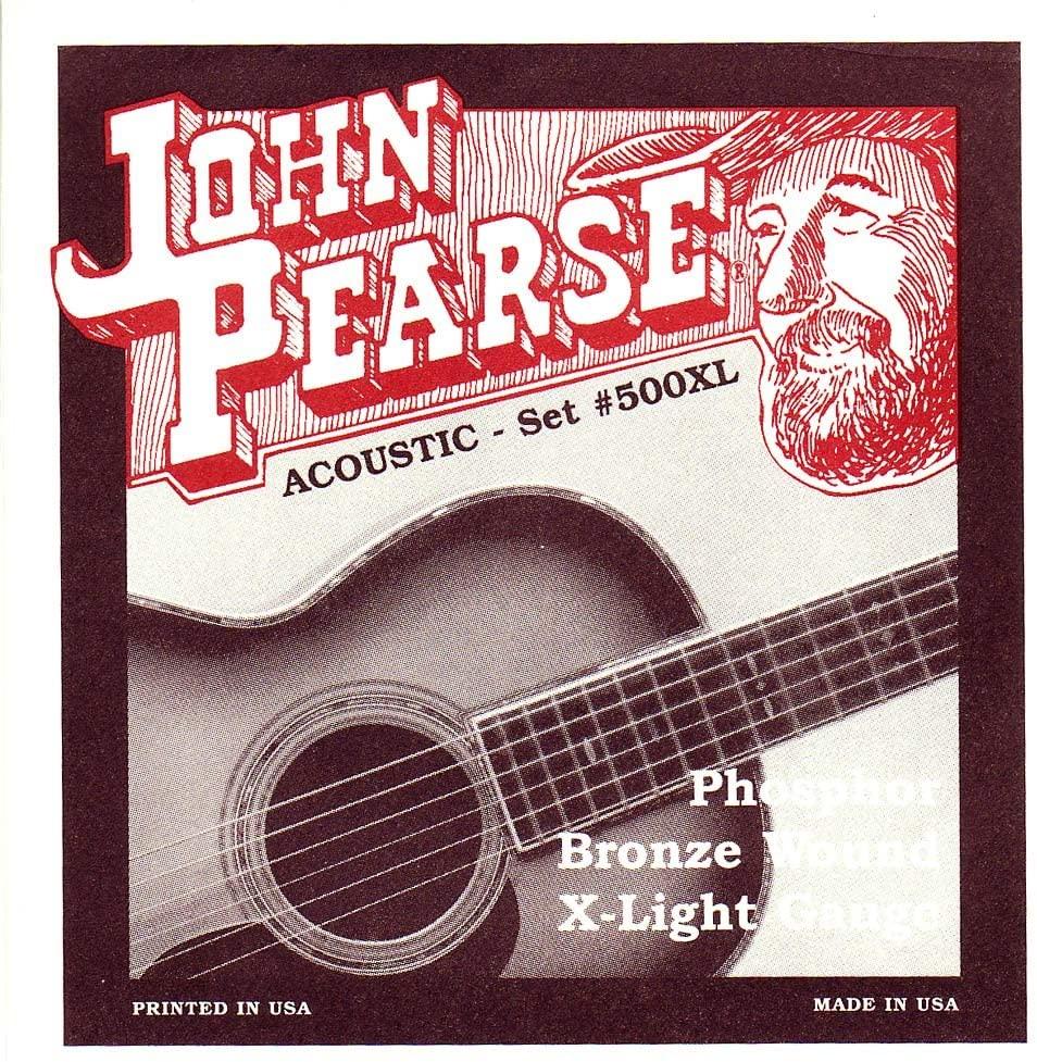 John Pearse Acoustic PB Xlight set