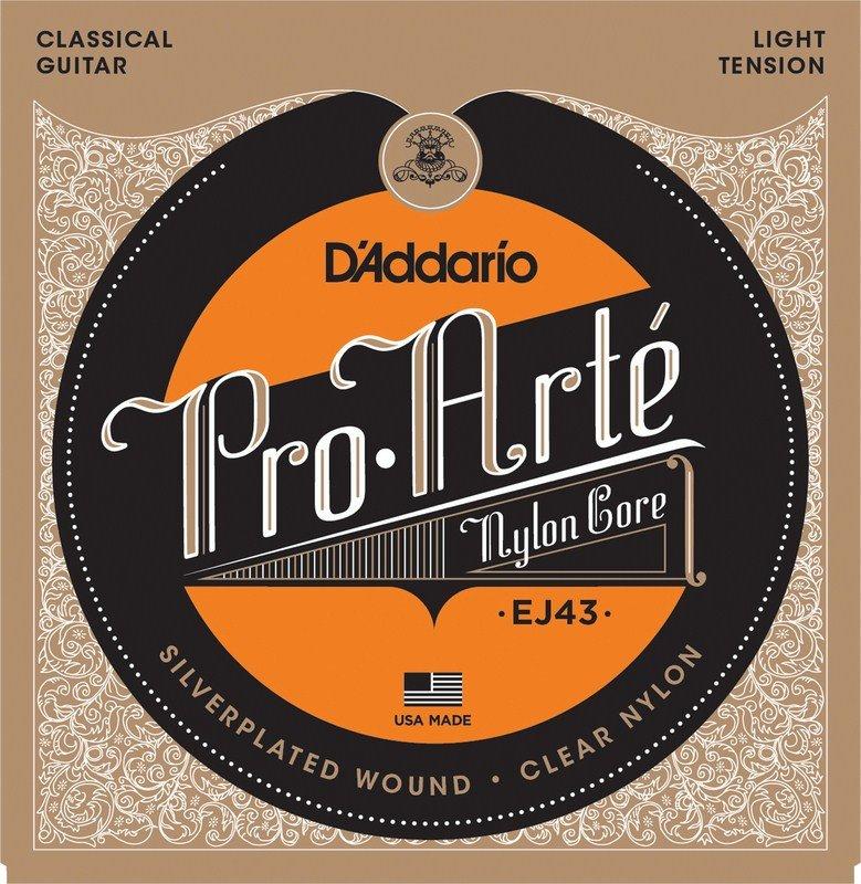 D'addario Classical Light Pro Arte Nylon EJ43