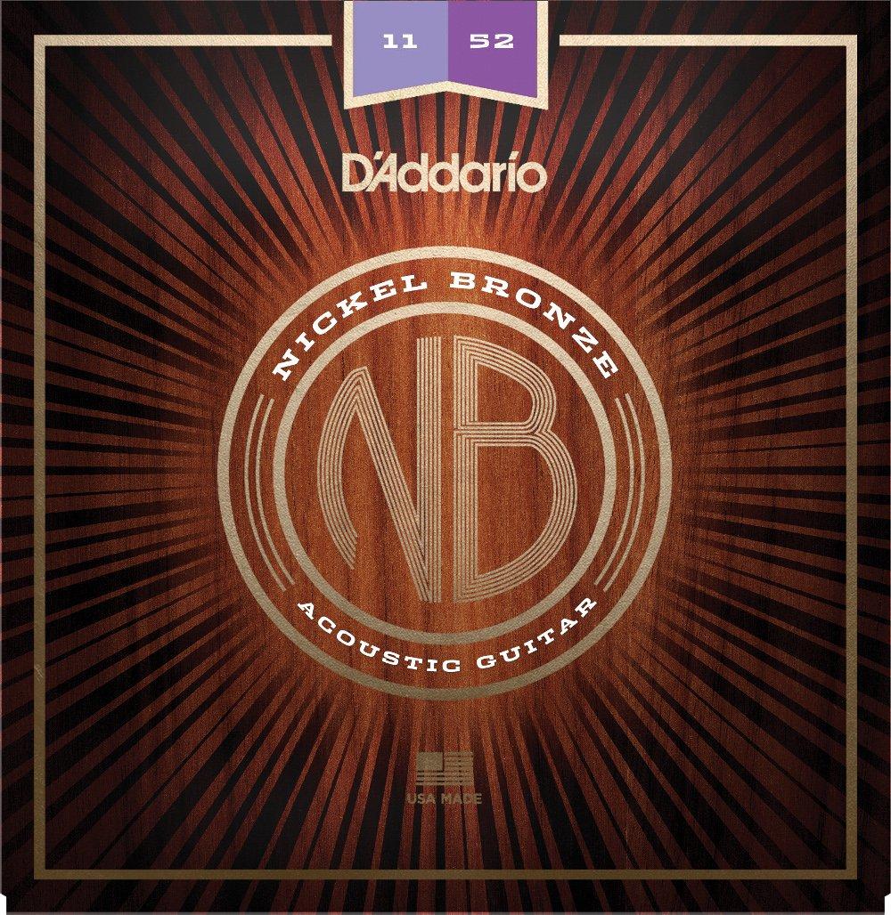 D'Addario Nickel Bronze Custom Light 11-52 NB1152
