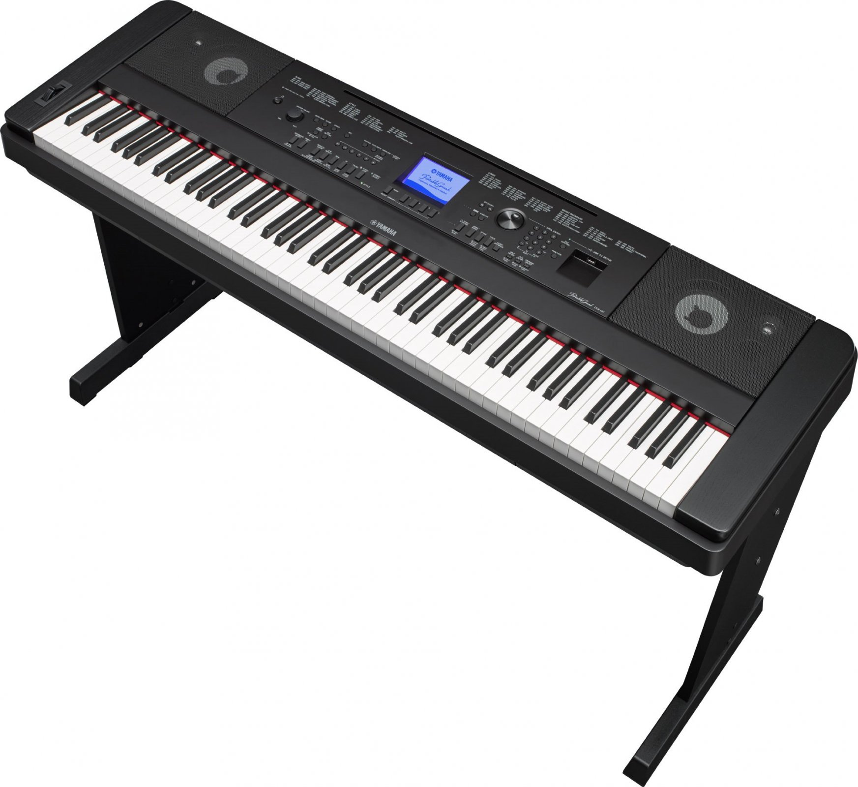 Yamaha DGX660B 88-key Portable Grand Digital Piano, Black
