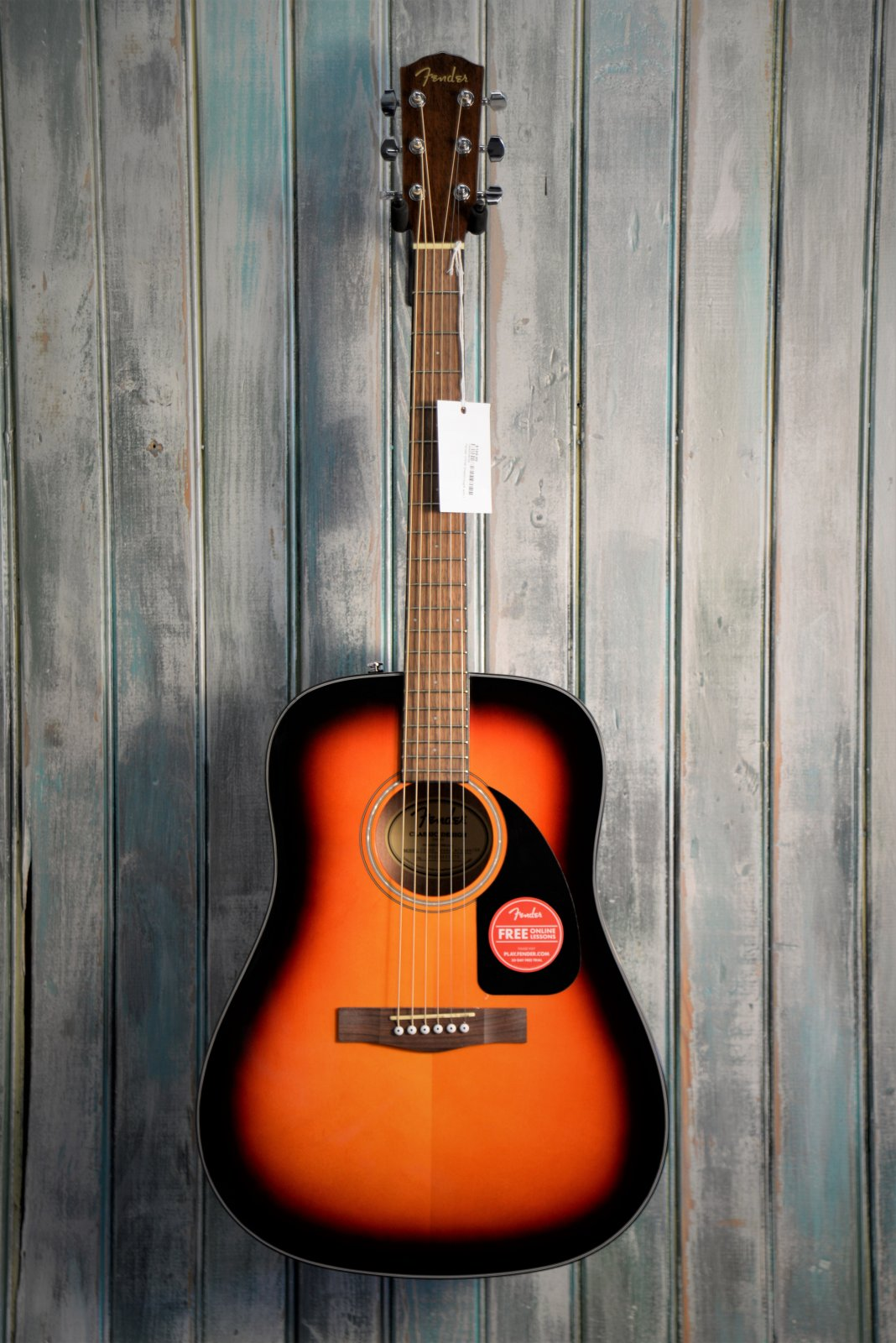 Fender CD-60 Dreadnought with Case
