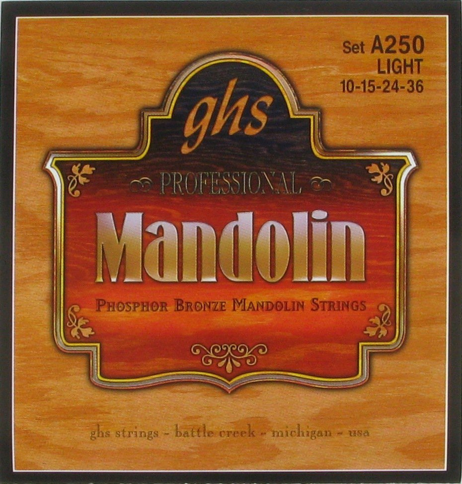 GHS A250 Mandolin Phosphor Bronze Lt
