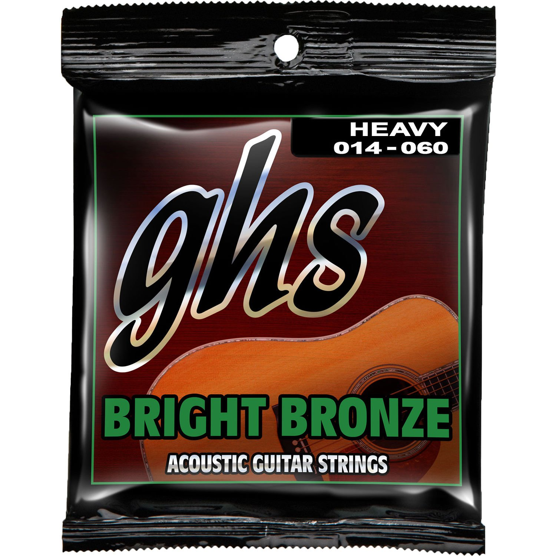 GHS 80/20 Bright Bronze Heavy 14-60 BB50H