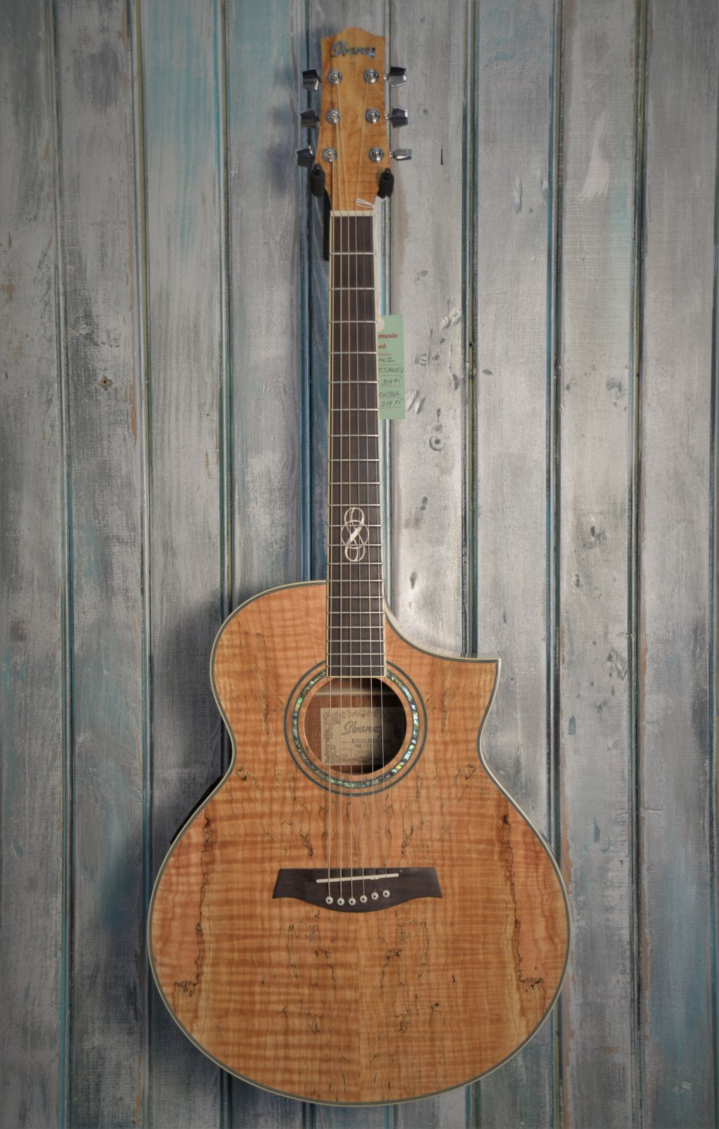Ibanez EW20 SMENT Spalted Maple Acoustic - USED