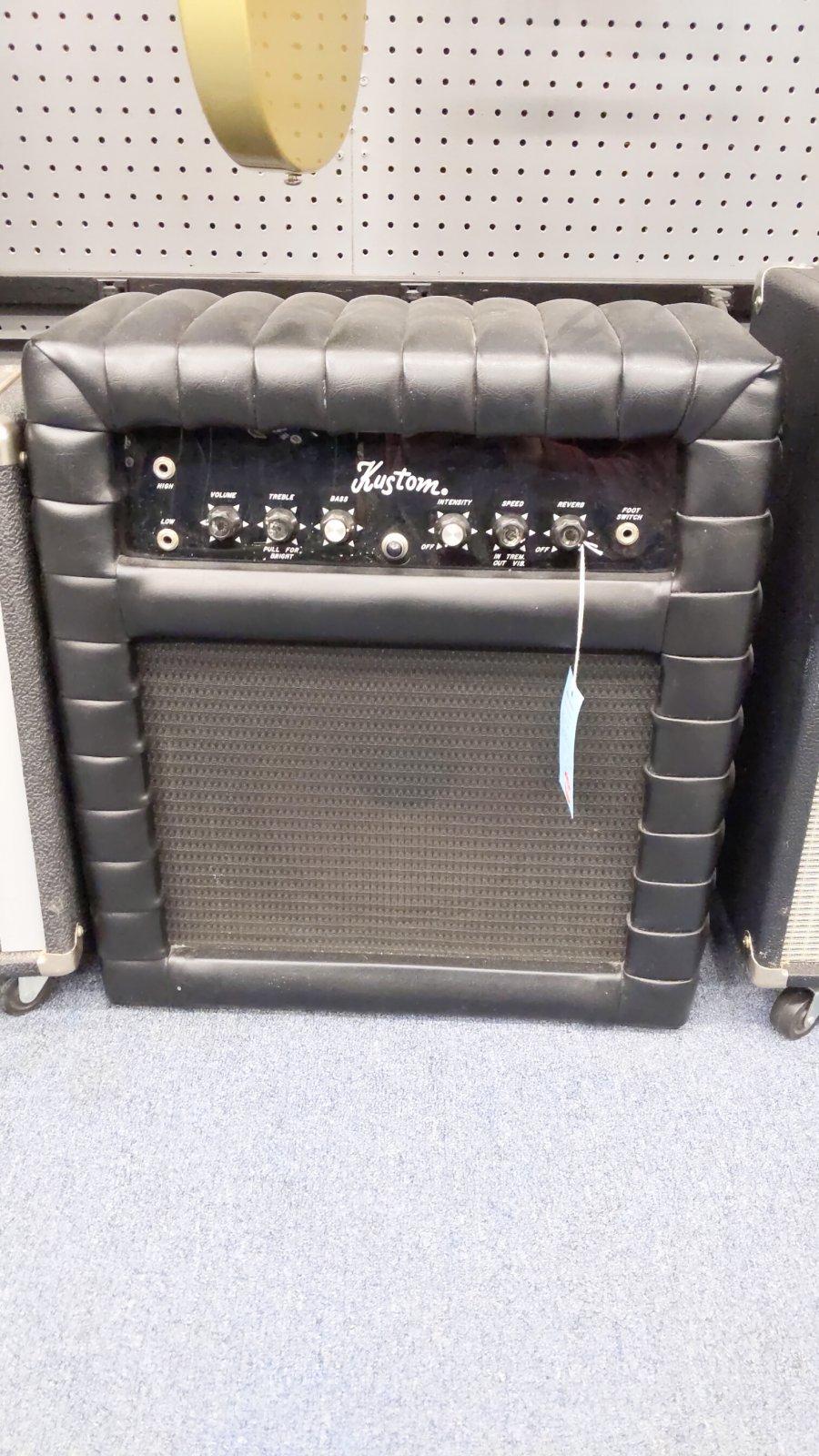 Kustom K25C amp with cover