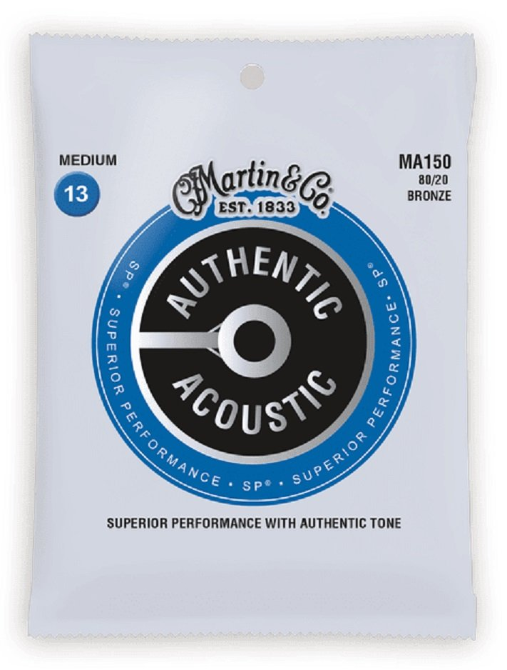 Martin Authentic SP Med 80/20 Bronze 13-56 MA150