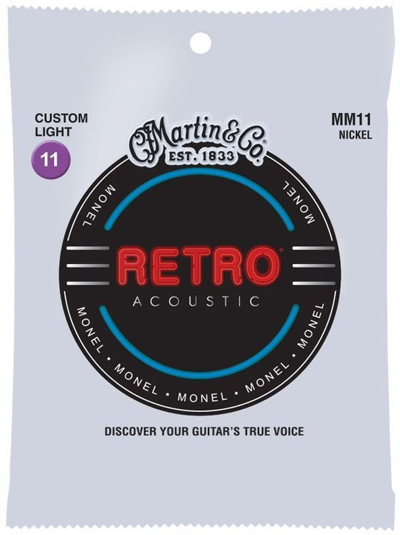 Martin Retro Monel Custom Light 11-52 MM11