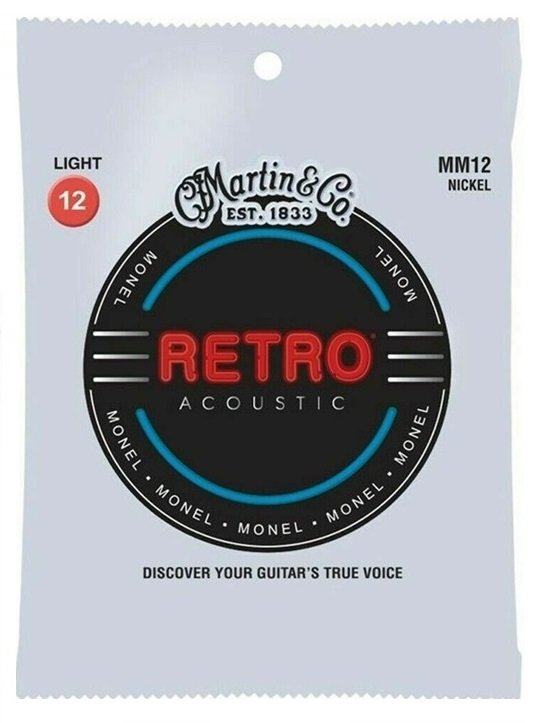 Martin Retro Monel Light 12-52 MM12