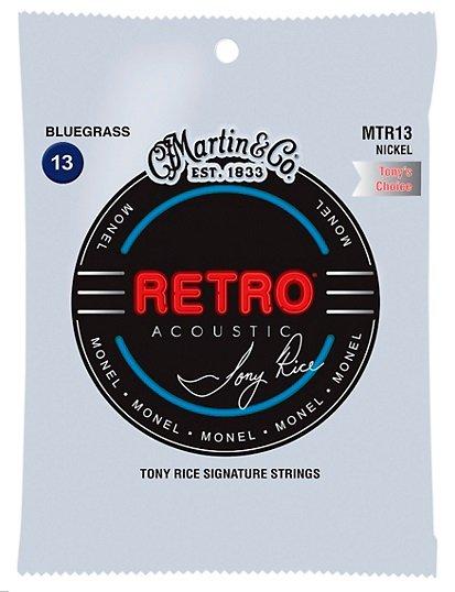 Martin Retro Monel Tony Rice Bluegrass 13-56 MTR13