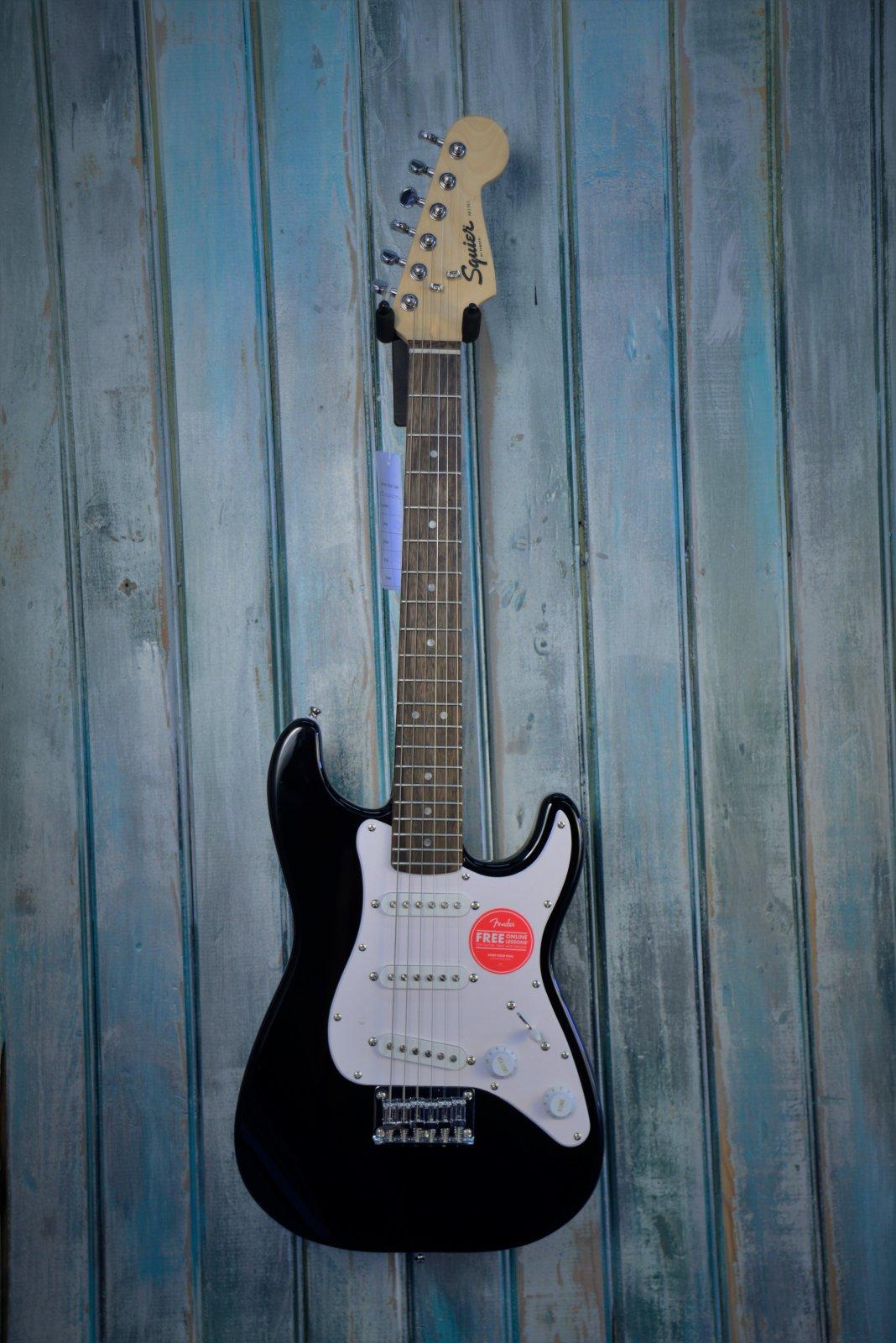 Mini Stratocaster®, Laurel Fingerboard, Black