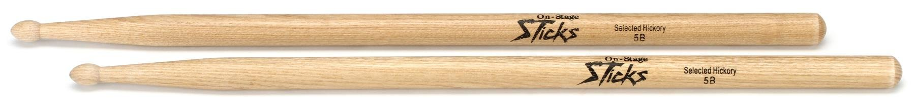 Onstage 5b hickory wood tipped