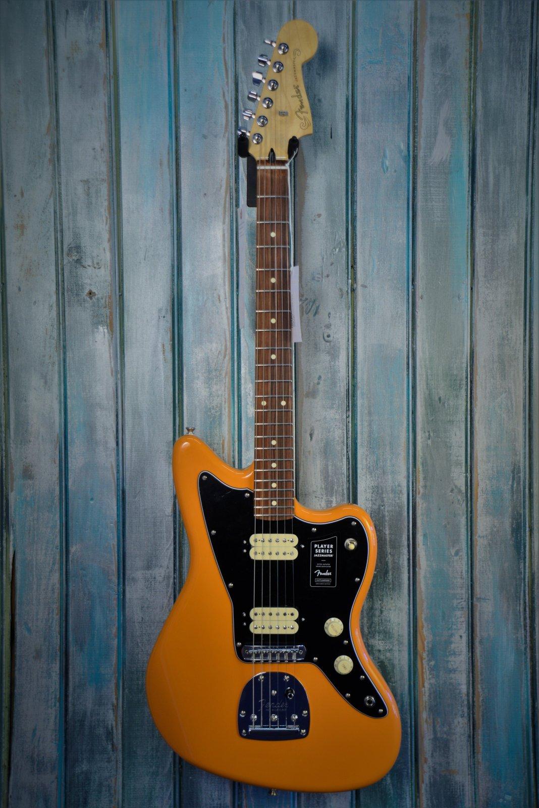 Fender Player Jazzmaster, Pau Ferro Fingerboard, Capri Orange