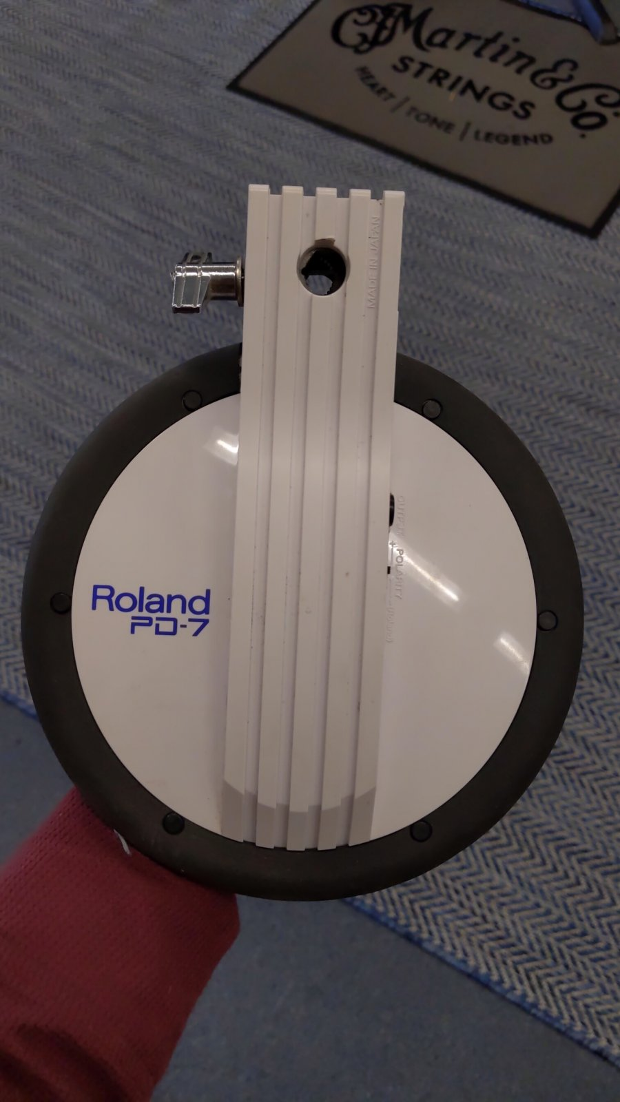 Used Roland PD-7 Drum Trigger