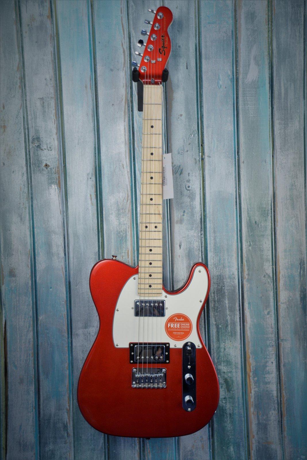 Squier Contemporary Telecaster HH, Maple Fingerboard, Dark Metallic Red