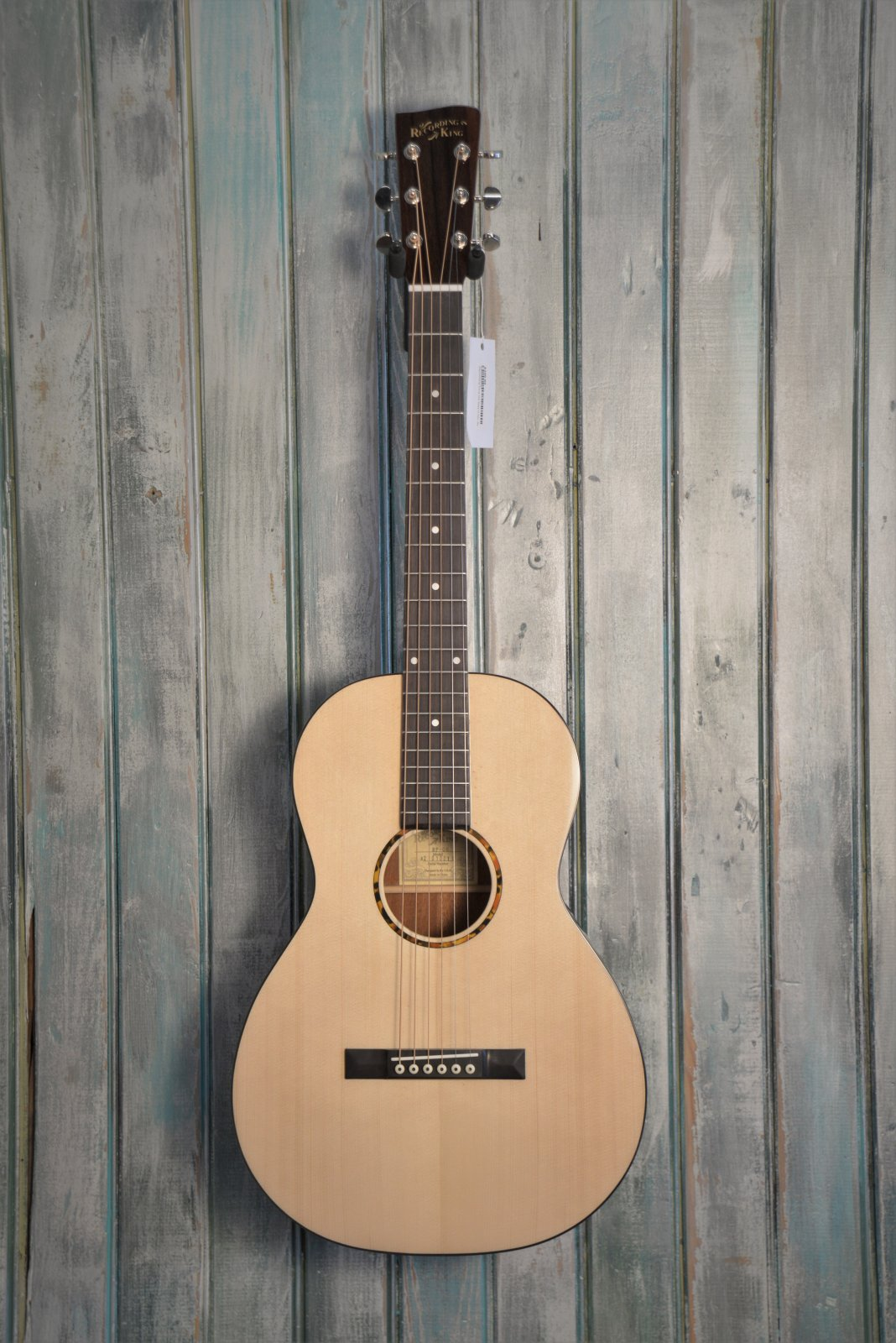 Recording King G6 000 Guitar, Solid Top