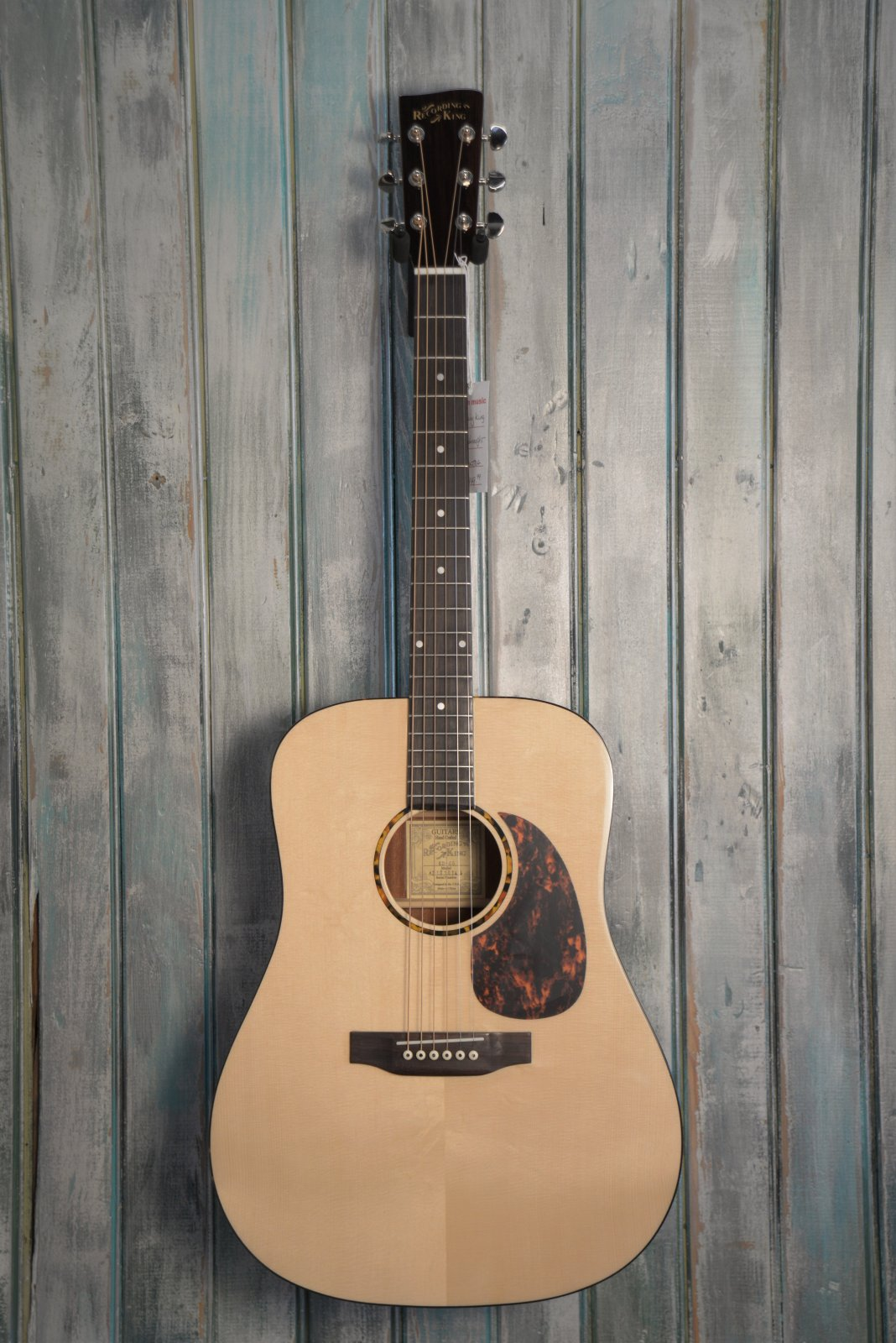 Recording King G6 Dreadnought, Solid Top
