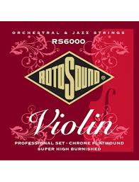Rotosound RS6000 violin strings