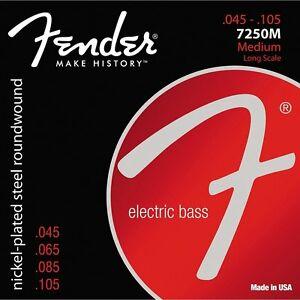 Fender NPS RW LS 45-105 Bass String Set