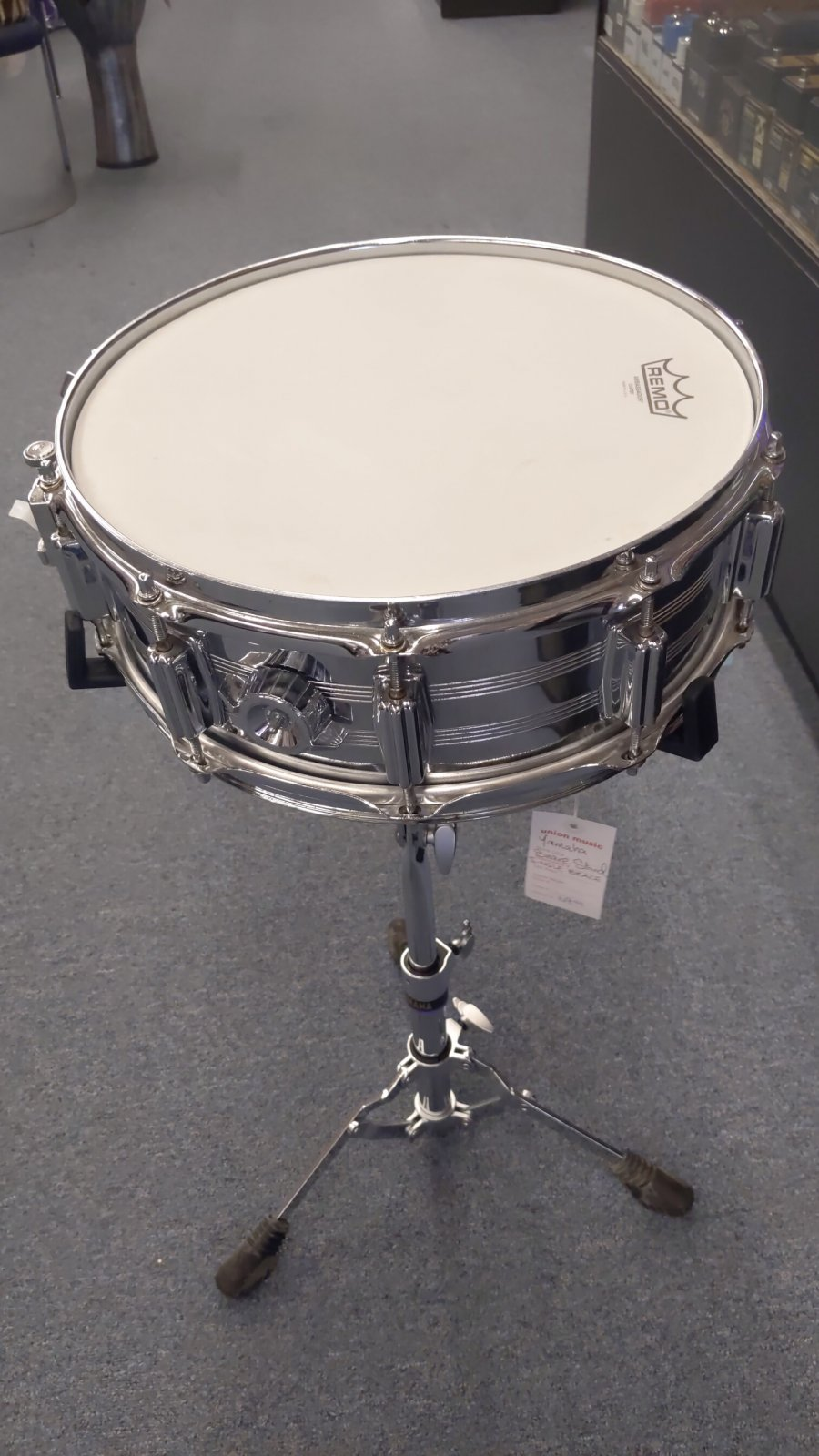 Used 80's Imperialstar Powerline Snare Drum