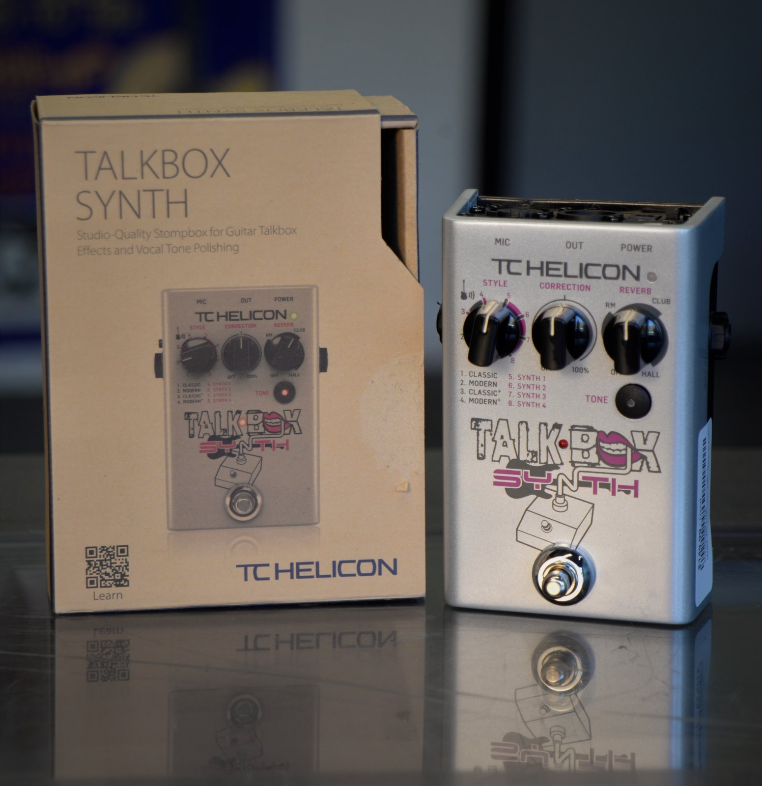 TC Helicon Talk Box Synth Pedal - USED