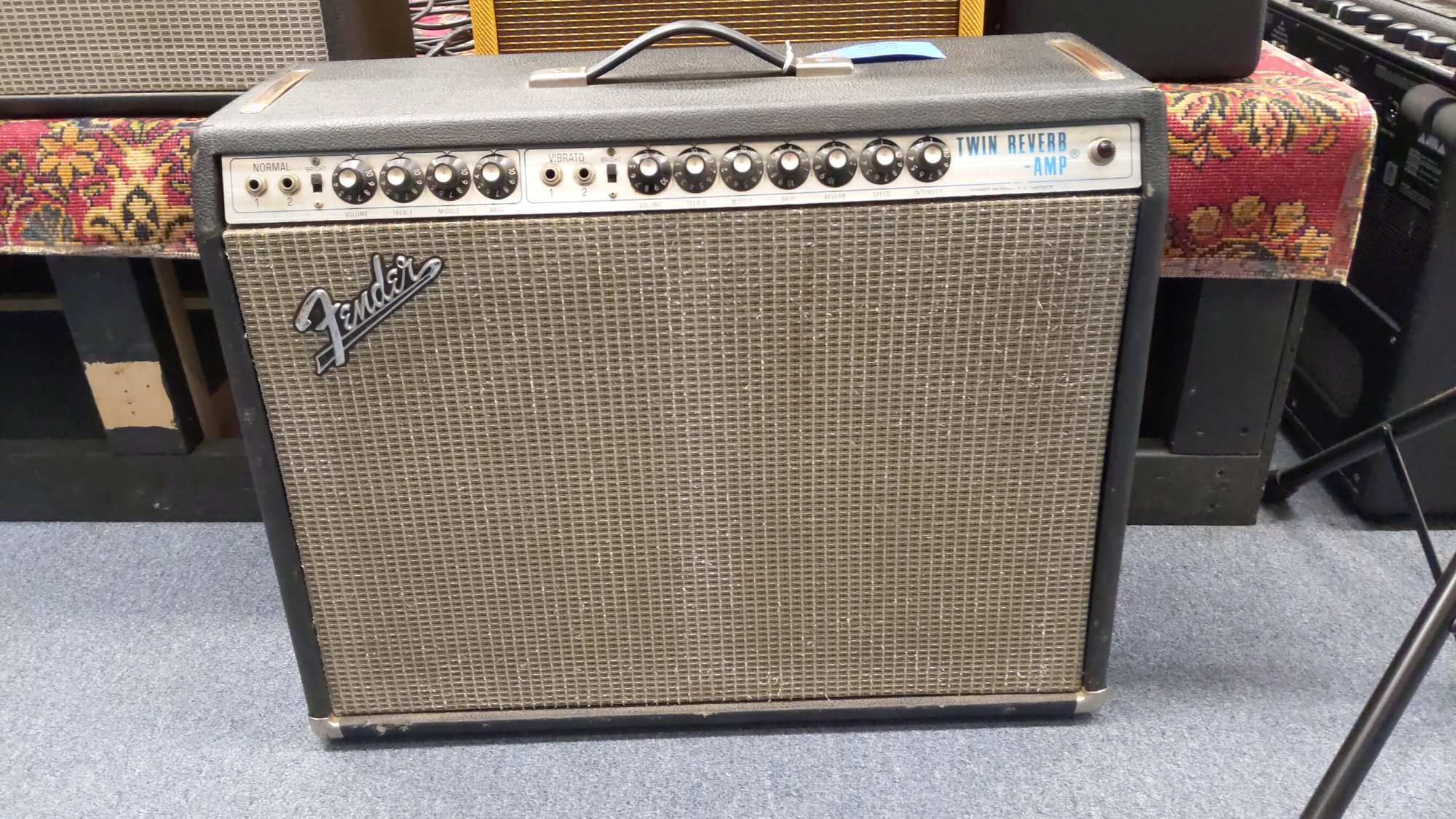 Used 1971 Twin Reverb Amplifier