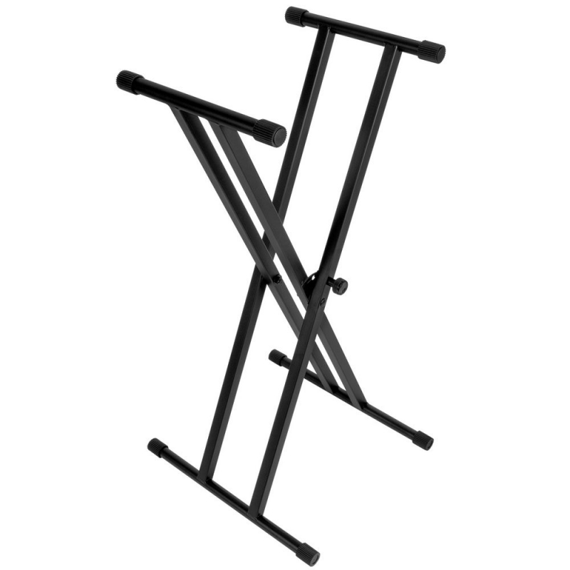 On-Stage Double X Keyboard Stand