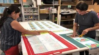 Cutting Quiltblocks Quilts Inc