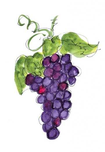 FL125 Grape Cluster