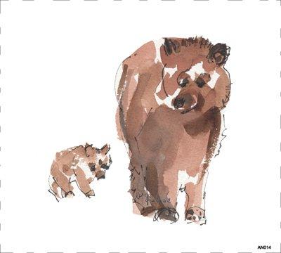 Woodland Bear AN014