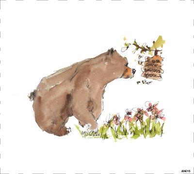 Woodland Bear AN015
