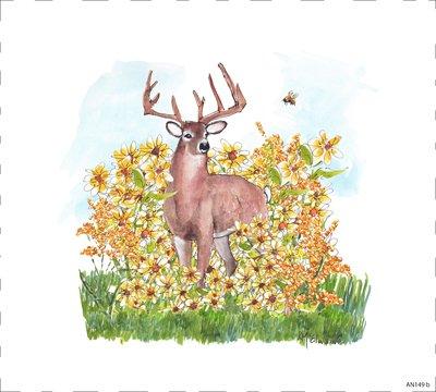 Woodland Deer AN155