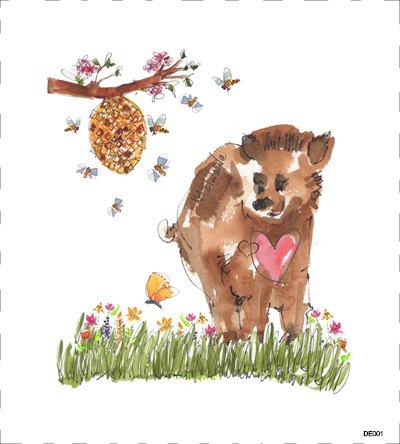Woodland Bear DE001