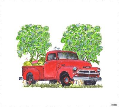 Pickup Red DE005