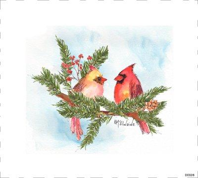 Bird Red DE028