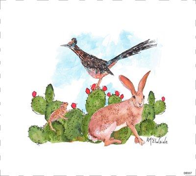 Woodland Rabbit DE037