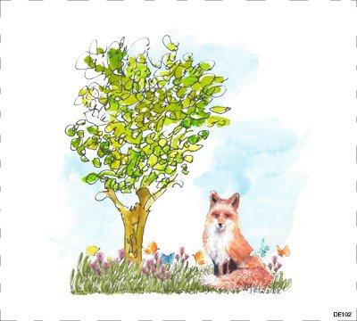 Woodland Fox  DE102